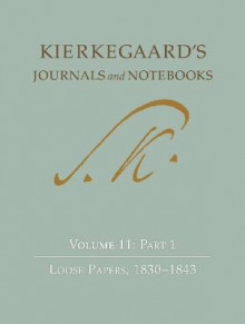 Kierkegaard's Journals and Notebooks av Soren Kierkegaard (Innbundet)