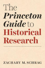 Omslag - The Princeton Guide to Historical Research