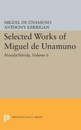 Omslag - Selected Works of Miguel de Unamuno: Novela/Nivola Volume 6