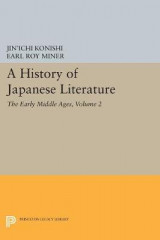 Omslag - A History of Japanese Literature: Volume 2