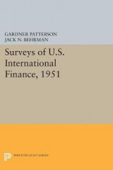 Omslag - Surveys of U.S. International Finance, 1951
