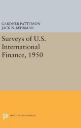 Omslag - Surveys of U.S. International Finance, 1950