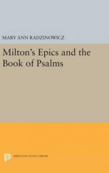 Omslag - Milton's Epics and the Book of Psalms