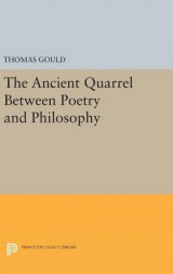 Omslag - The Ancient Quarrel Between Poetry and Philosophy