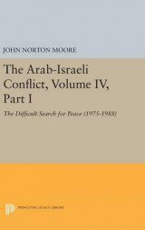 Omslag - The Arab-Israeli Conflict: Volume IV, Part I