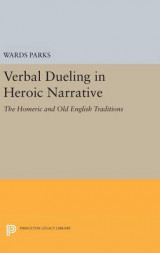 Omslag - Verbal Dueling in Heroic Narrative