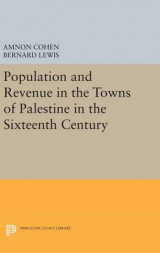 Omslag - Population and Revenue in the Towns of Palestine in the Sixteenth Century