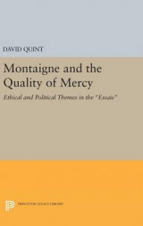 Omslag - Montaigne and the Quality of Mercy