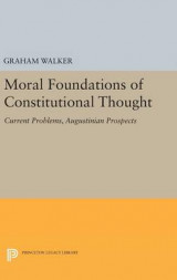 Omslag - Moral Foundations of Constitutional Thought