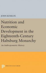 Omslag - Nutrition and Economic Development in the Eighteenth-Century Habsburg Monarchy