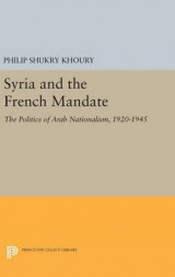 Omslag - Syria and the French Mandate