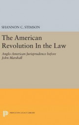 Omslag - The American Revolution in the Law