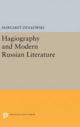 Omslag - Hagiography and Modern Russian Literature