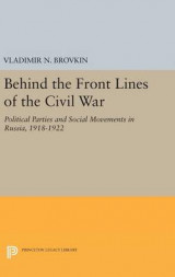 Omslag - Behind the Front Lines of the Civil War