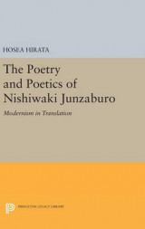 Omslag - The Poetry and Poetics of Nishiwaki Junzaburo