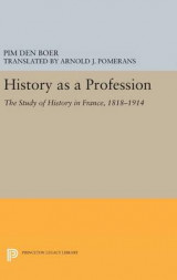 Omslag - History as a Profession