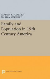 Omslag - Family and Population in 19th Century America