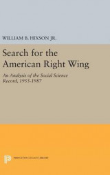 Omslag - Search for the American Right Wing