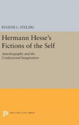 Omslag - Hermann Hesse's Fictions of the Self