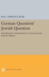 Omslag - German Question/Jewish Question