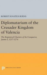 Omslag - Diplomatarium of the Crusader Kingdom of Valencia