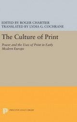 Omslag - The Culture of Print