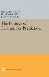 Omslag - The Politics of Earthquake Prediction