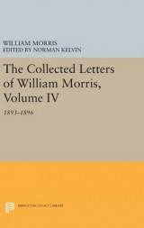 Omslag - The Collected Letters of William Morris: Volume IV