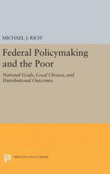Omslag - Federal Policymaking and the Poor
