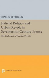 Omslag - Judicial Politics and Urban Revolt in Seventeenth-Century France