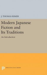 Omslag - Modern Japanese Fiction and its Traditions