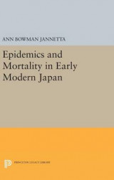 Omslag - Epidemics and Mortality in Early Modern Japan