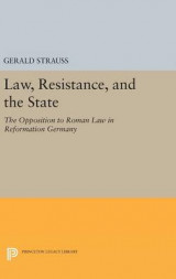 Omslag - Law, Resistance, and the State