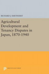 Omslag - Agricultural Development and Tenancy Disputes in Japan, 1870-1940
