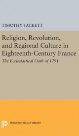 Omslag - Religion, Revolution, and Regional Culture in Eighteenth-Century France