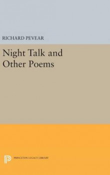 Night Talk and Other Poems av Richard Pevear (Innbundet)