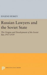 Omslag - Russian Lawyers and the Soviet State