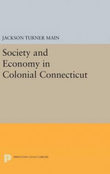 Omslag - Society and Economy in Colonial Connecticut
