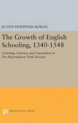 Omslag - The Growth of English Schooling, 1340-1548