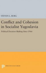 Omslag - Conflict and Cohesion in Socialist Yugoslavia