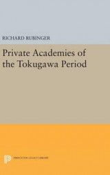 Omslag - Private Academies of the Tokugawa Period