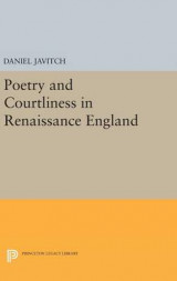 Omslag - Poetry and Courtliness in Renaissance England