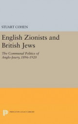 Omslag - English Zionists and British Jews