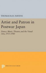 Omslag - Artist and Patron in Postwar Japan