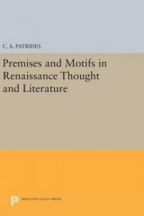 Omslag - Premises and Motifs in Renaissance Thought and Literature