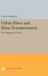 Omslag - Urban Elites and Mass Transportation