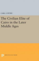 Omslag - The Civilian Elite of Cairo in the Later Middle Ages