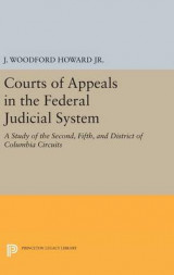 Omslag - Courts of Appeals in the Federal Judicial System