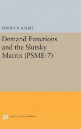 Omslag - Demand Functions and the Slutsky Matrix