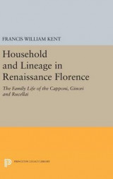 Omslag - Household and Lineage in Renaissance Florence